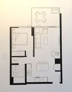 Guardian North (DT/ Stampede) Single Bedroom Available Jan 2019