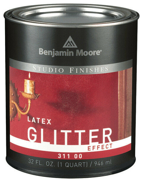 Benjamin Moore Studio Finishes Glitter Effect (311) Quart Building & Hardware