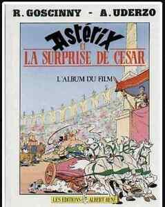 ASTÉRIX ET LA SURPRISE DE CESAR E.O.1985