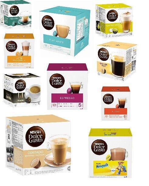 Nescafé Dolce Gusto Kaffeekapseln Angebot Kapseln Kaffee Tee Kakao vers. Sorten