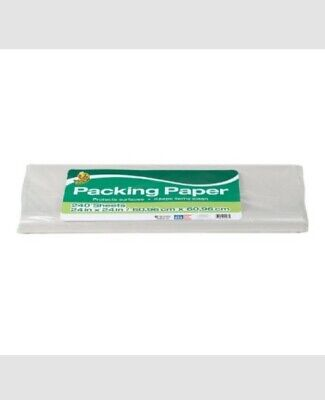 Duck Brand Packing Paper White 24 X 24 240 Sheets Moving Shipping Gift