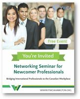 Networking Seminar for Newcomer Professionals