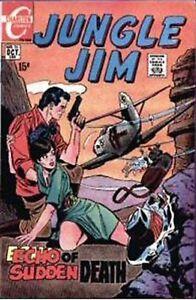 JUNGLE-JIM-26-Fine-Echo-of-Sudden-Death-Silver-Age-Charlton-Comics-1969