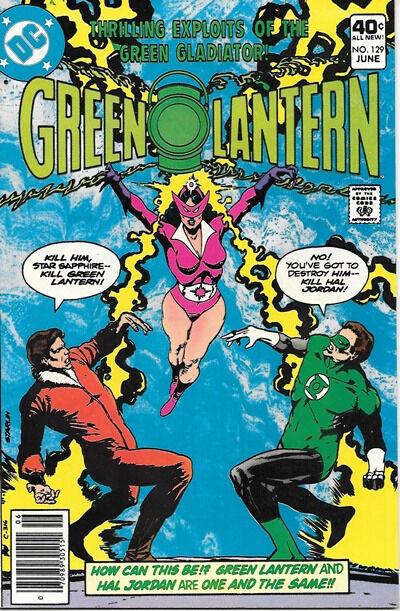 Green Lantern Comic Book #129, DC Comics 1980 NEAR MINT