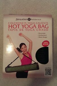 Brand New Zenzation Athletics Hot Yoga Gym Bag - Black - $10