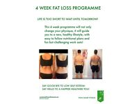 4 WEEK FATLOSS PROGRAMME! Personal training at its best!