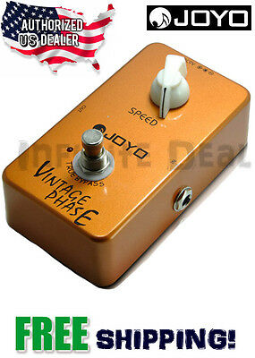 New JOYO JF-06 Vintage Phase Effects Pedal FX Stompbox 70's Phaser True Bypass