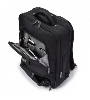 """D30847 Dicota Backpack PRO Laptop Bag 14.1"""" Black. Lockable and cushioned notebo"""