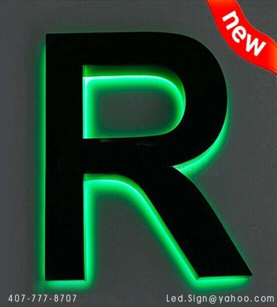 """Led Back Lit channel Letter 22"""" - Custom made Sign Letters"""