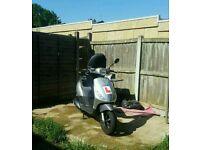 Piaggio zip 125 125cc not gilera runner not tyhoon yamaha not 50cc not 70cc not 200cc not 300cc
