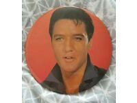 Elvis badge 60s pic