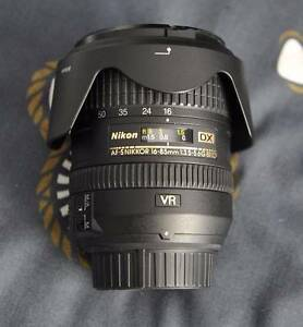 NIKON 16-85mm DX VR LENS Annerley Brisbane South West Preview