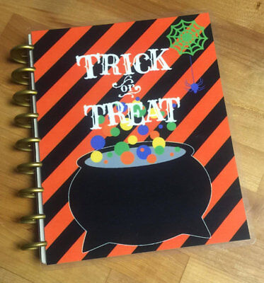 Fall Halloween Trick or Treat Front/Back Cover Set for use w Happy - Halloween Treats For Office