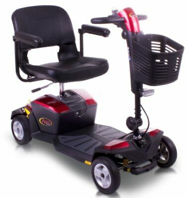 NEW Red Pride Apex Rapid Portable Travel Mobility Scooter 12ah