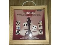 Chess, Draughts, Ludo, Dominoes, Chinese Checkers, Backgammon, Noughts and Crosses Board Game
