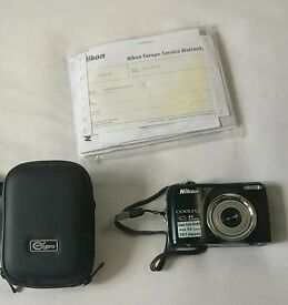 Nikon Coolpix L23 with carry case