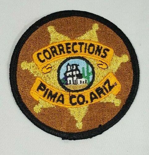 PIMA COUNTY ARIZONA AZ CORRECTIONS DOJ PRISON GUARD POLICE SHOULDER PATCH