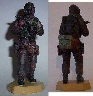Britischer englisch Soldat mit S10 Gasmaske und Ausrüstung   Figur Militär Armee for sale  Shipping to Ireland