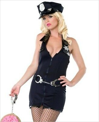 Police Costume Armed and Dangerous Leg Avenue 83533 s/m and m/l (M And M Costume)