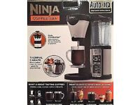 Ninja Coffee Bar Machine, CF065UK, Auto-IQ, Froths Milk & So Much More! NEW