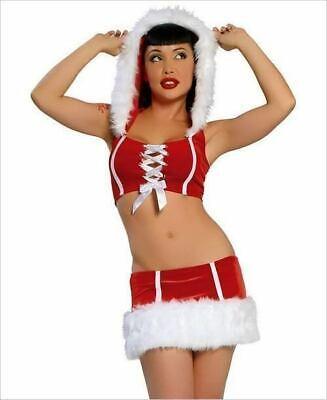 C123 ROMA Pretty Santa Costume SZ S/M