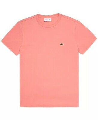 Lacoste Mens T Shirt. Pink. Size S. NWT