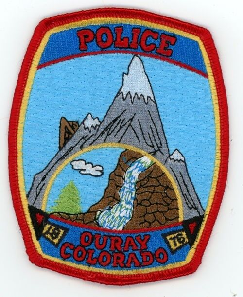 OURAY COLORADO CO POLICE COLORFUL PATCH SHERIFF