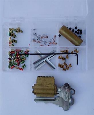 Schlage 6 Pin You Build A Lock Practice Lock Kit Spool Serrated Pins Pick