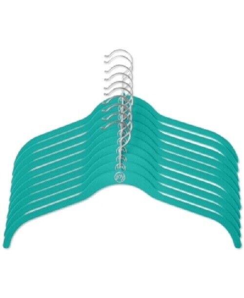 40 Pack Non Slip Velvet Hangers Wrinkle Free Hangers For Shirt Dress - Teal