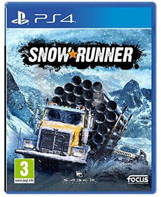 SnowRunner (PS4) **Pre Release**