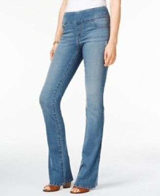 Style   Co Large Medium Republic Wash Pull On Low Rise Bootcut Jeans Pants