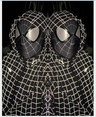 Newest Stunning Amazing Spider-Man 2 Mask 3D Digital Printing Black&White Hood