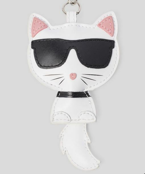 Karl Lagerfeld Cat Keychain Bag Charm NWT fendi chanel Free Shipping