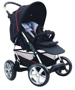 New Bertini Shuttle Terrific Pram 4WD With Mountain Bike Wheels Parkville Melbourne City Preview
