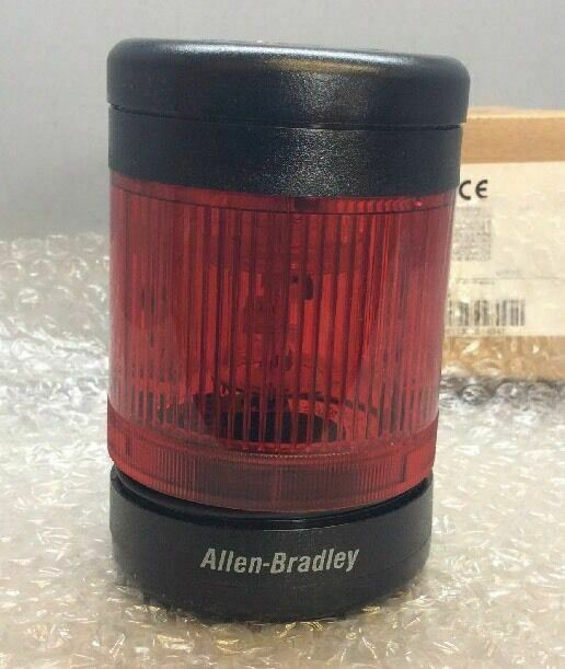 Allen-Bradley 855TC-B10L4 Tower Light Stack Assembly SER C RED *NEW*
