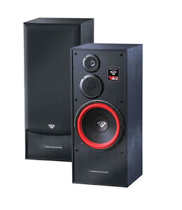 Cerwin-Vega VE-12F 3-Way Floor Standing Tower Speaker 300 Watts Home Theater 12
