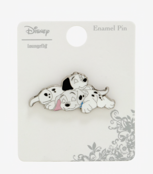 Disney 101 Dalmatians Pin Hot Topic Loungefly Limited Edition Nap Dog Puppy