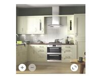 Cream Shaker Kitchen with or without appliances for sale Brand New
