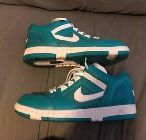 Teal Nike x Supreme Air Force