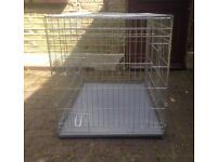 Puppy/ dog cage large 107cm or 42 inches