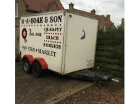 Tow a van box trailer Spares or repairs £750 ono....