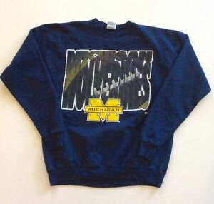 Vintage Michigan Wolverines Crewneck Sweater by 2020 Sport