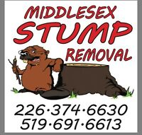 Easy stump removal
