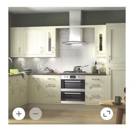 Cream Shaker Kitchen For Sale Including Appliances **Brand New**