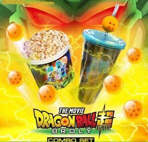 Dragon ball super cup and popcorn