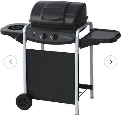 BBQ GAS 2 Burner with Side