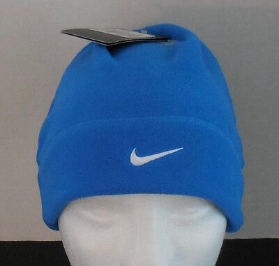 bd7fb9c2734 NIKE Unisex Arctic Fleece Beanie   Hat Color Blue White Size OSFM New