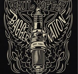Tee shirt officiel Paul Yaffe bagger nation