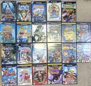 Wii + Gamecube Games (all playable on the Wii)