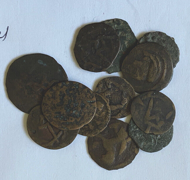 Study Lot Of Chach Coins. Affordable.